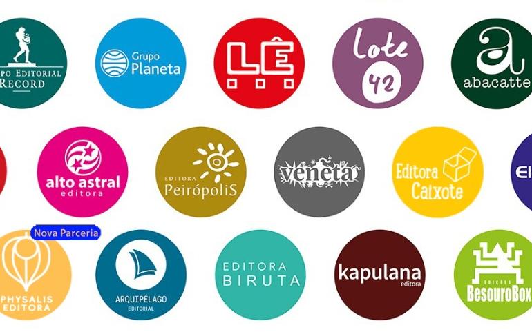 Editoras distribuídas pelo Grupo Lê.