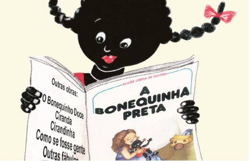 A Bonequinha Preta. Imagem ilustrativa texto prêmios e reconhecimentos.