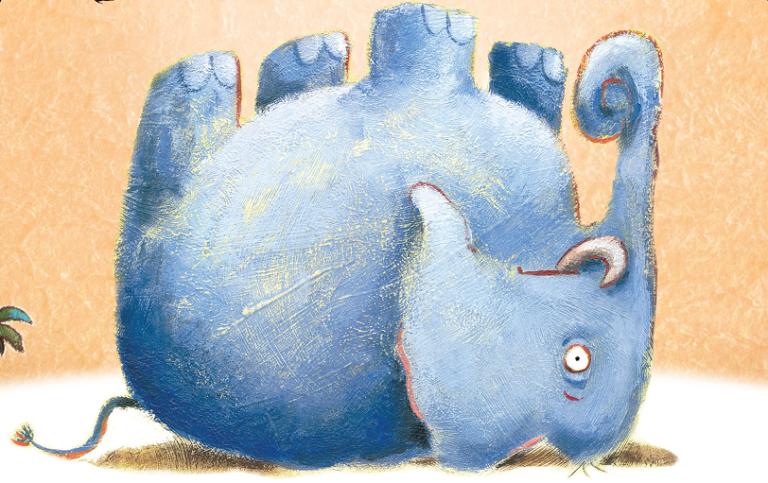 'O elefante caiu', uma história cheia de empurra daqui e puxa dali